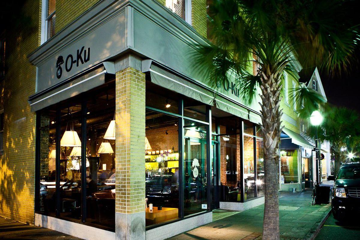 O-Ku Sushi Charleston.