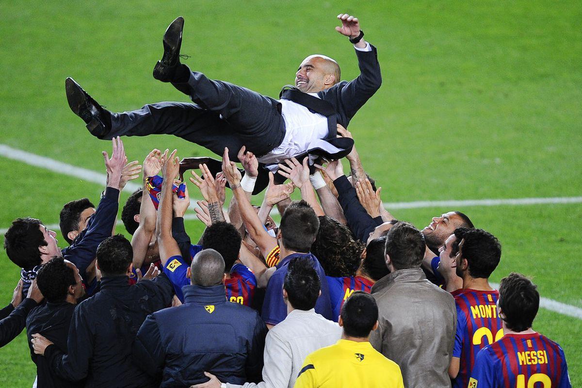 "Pep Guardiola's Emotional Goodbye: ""You'll Never Lose Me"" - Barca ..."