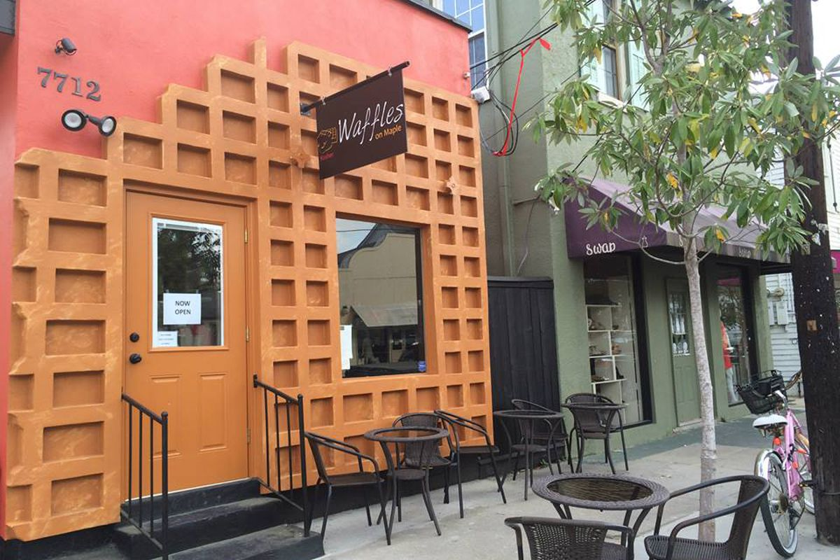 waffles on maple heads to metairie eater new orleans