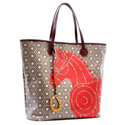 """<strong>Jonathan Adler</strong> Horse Icon Duchess North/South Tote, <a href=""""http://www.jonathanadler.com/horse-icon-duchess-ns-tote/?cat=1045#"""">$248</a>"""