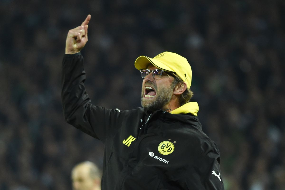 1. Bundesliga Borussia Dortmund - Borussia Moenchengladbach