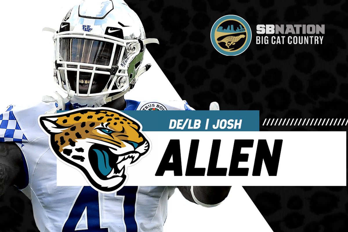 online retailer 455b6 e2c66 What are the Jaguars getting in Josh Allen? - Big Cat Country