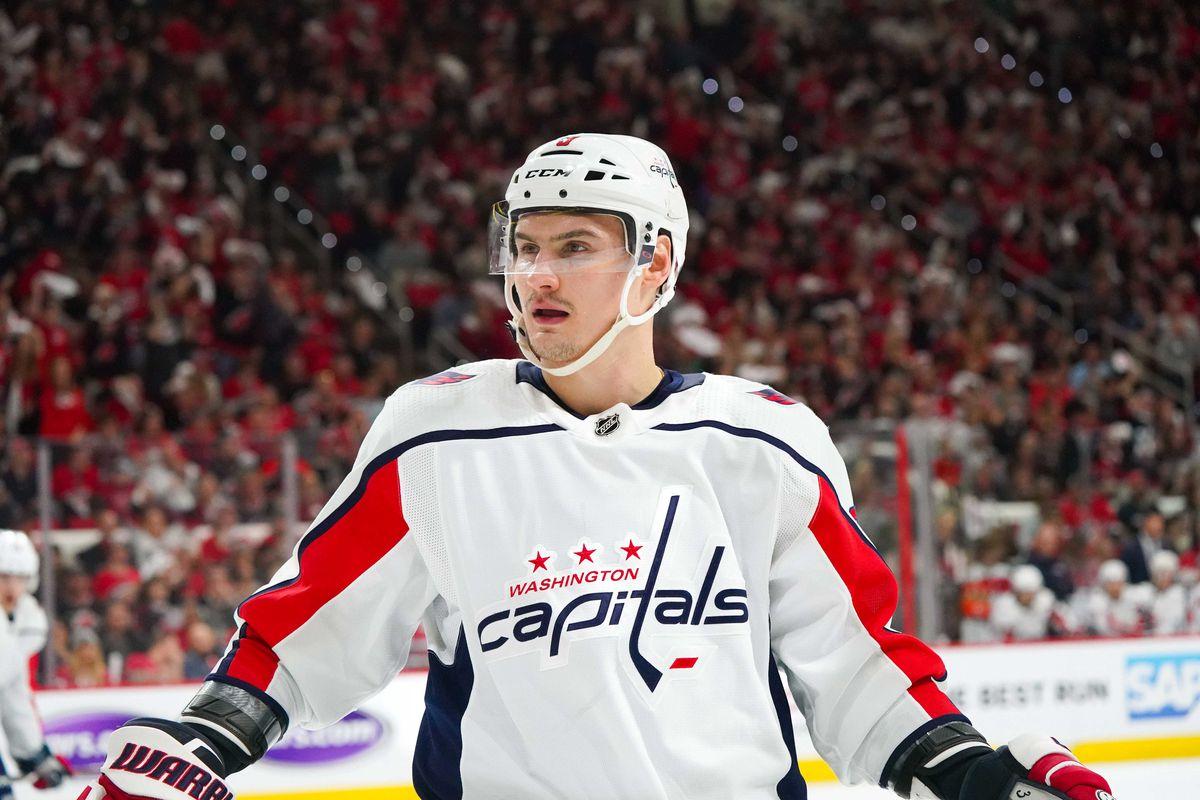 NHL: Stanley Cup Playoffs-Washington Capitals at Carolina Hurricanes