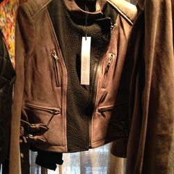 A Yigal Azrouël leather, $500