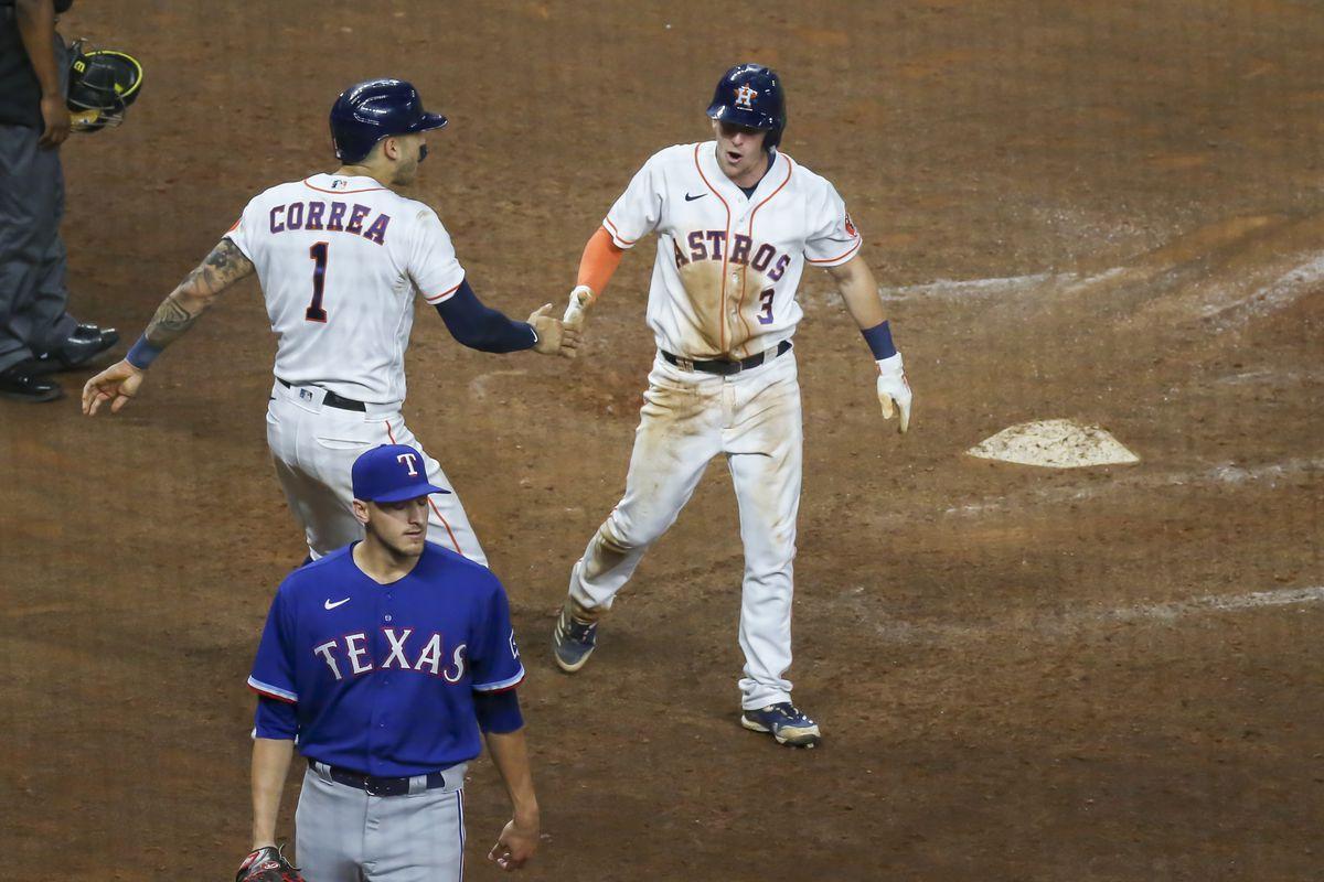 MLB: MAY 13 Rangers at Astros