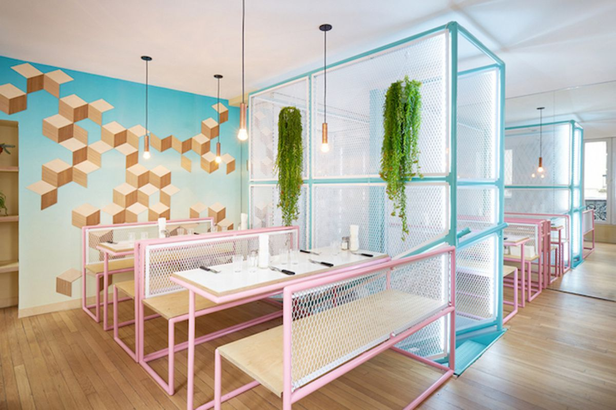 """All images by David Foesse via <a href=""""http://www.designboom.com/architecture/pny-restaurant-cut-architectures-paris-05-29-2015/"""">Designboom</a>"""