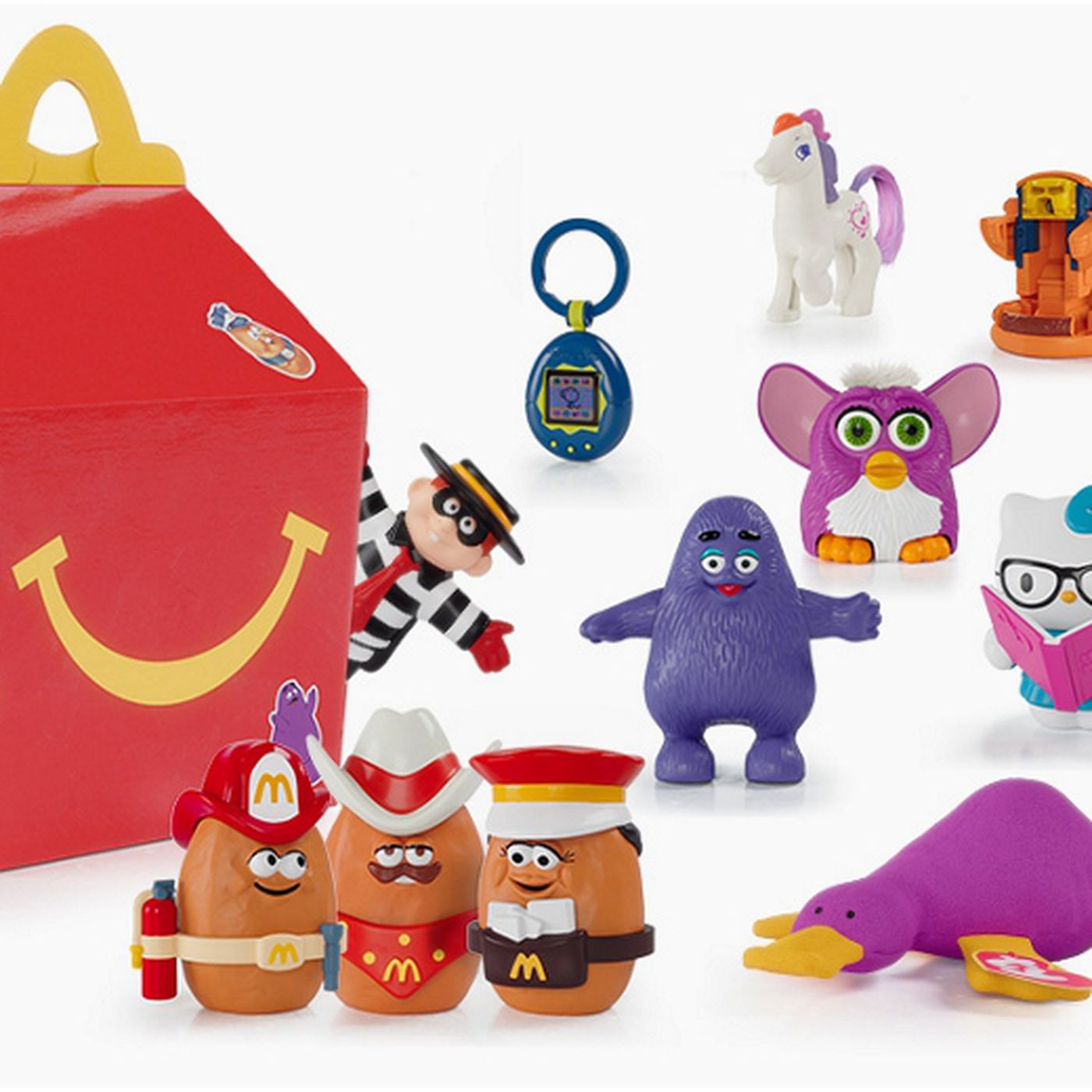 Mcdonald S Brings Back Toys For The Happy Meal S 40th Anniversary Eater