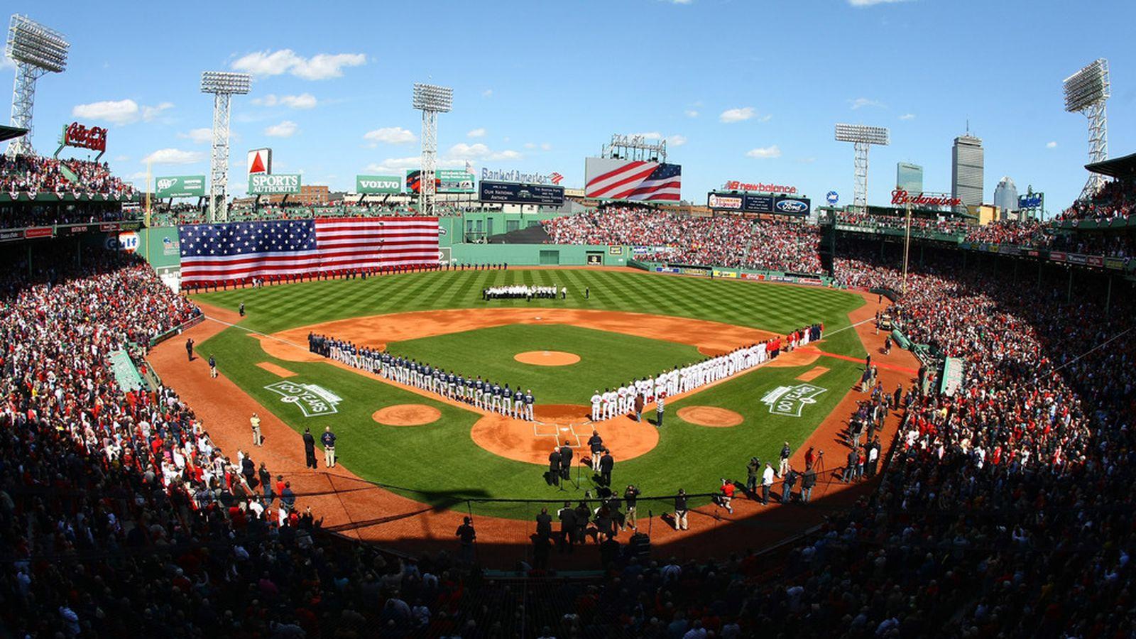 Stream Patriots Day Fenway Park 100th Anniversary Red Sox Celebrate One