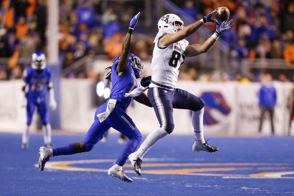 USU football: Utah State leads the nation in three different