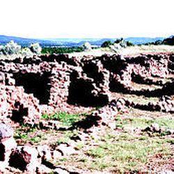 Pecos Pueblo is a national historic park near Las Vegas, N.M.