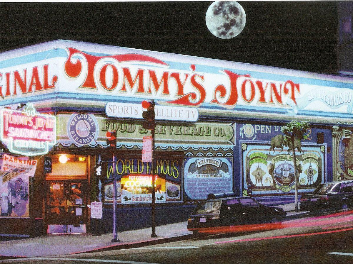 Storefront of Tommy's Joynt