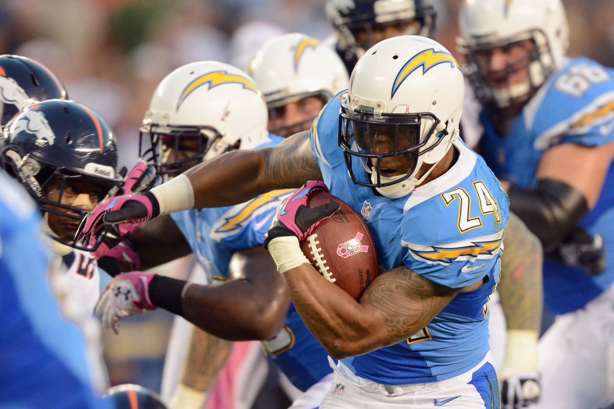 Should Ryan Mathews Stop Lifting Weights Bolts From The