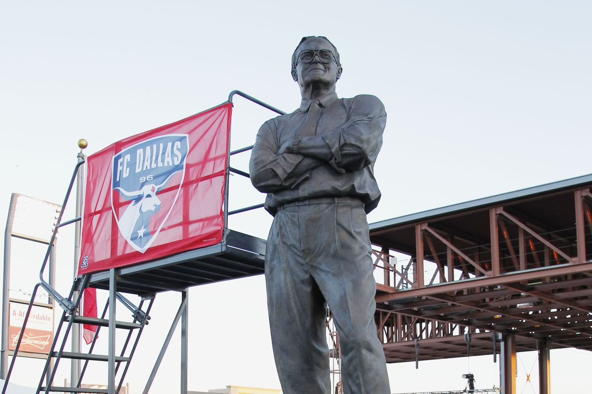 """Lamar Hunt, one of the architects of today's """"invention."""""""