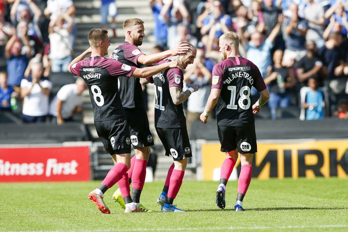 MK Dons v Peterborough - Sky Bet League 1