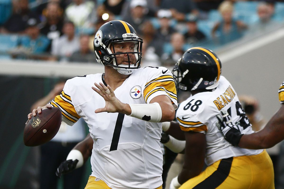 Ben Roethlisberger and the Steelers face the Packers on Sunday