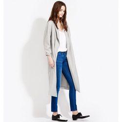 """<b>AYR</b> The Robe in Heather Grey, <a href=""""https://ayr.com/products/the-robe?color=heather%20grey"""">$485</a>"""