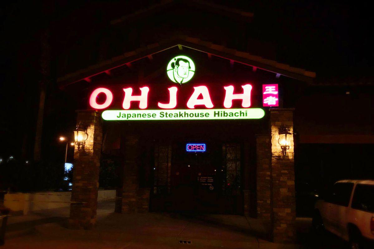 Ohjah Japanese Steakhouse Hibachi