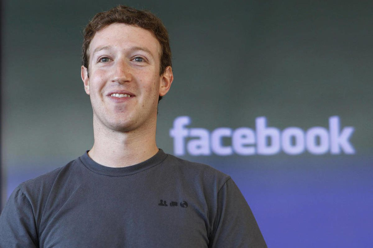 FILE - In this Jan. 3, 2011 file photo, Facebook CEO Mark Zuckerberg smiles in San Francisco. Facebook Inc. CEO Mark Zuckerberg is speaking at a technology conference in San Francisco on Tuesday, Sept. 11, 2012,  It is his first interview since the compan