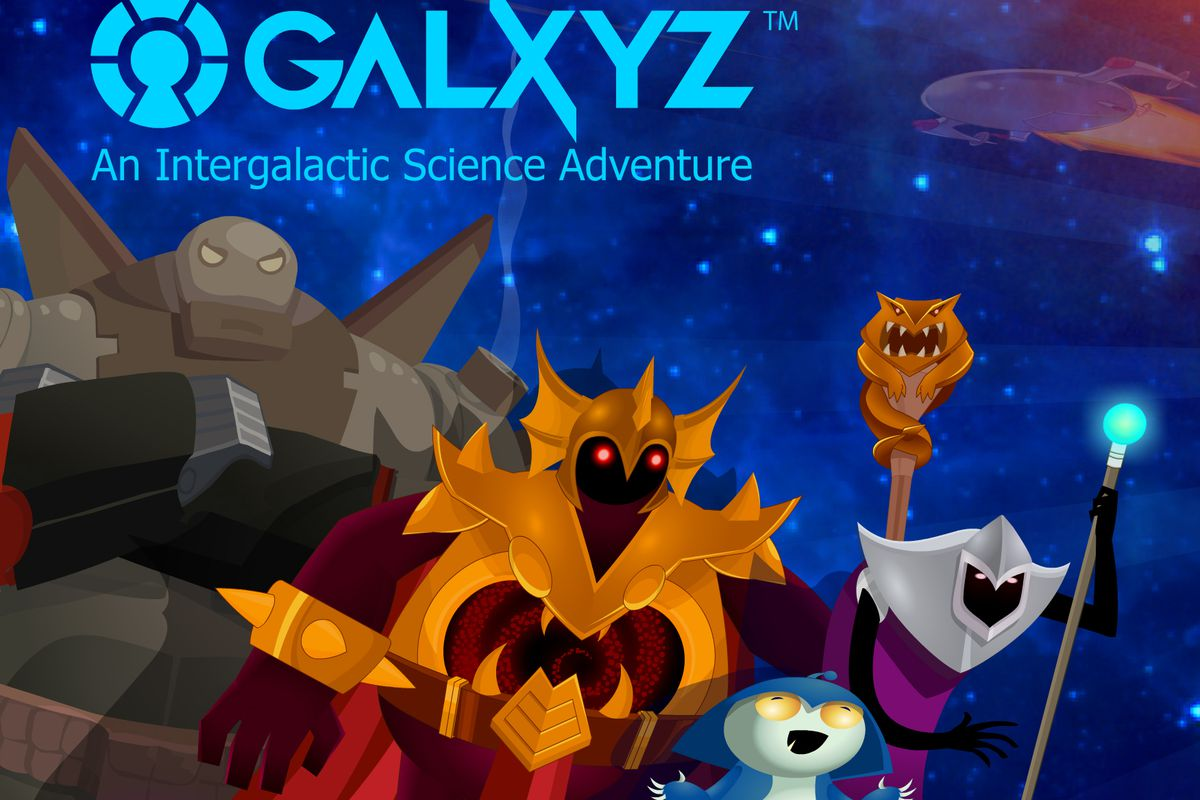 Introducing Galxyz: Come for the Intergalactic Battles -- Stay for the Science