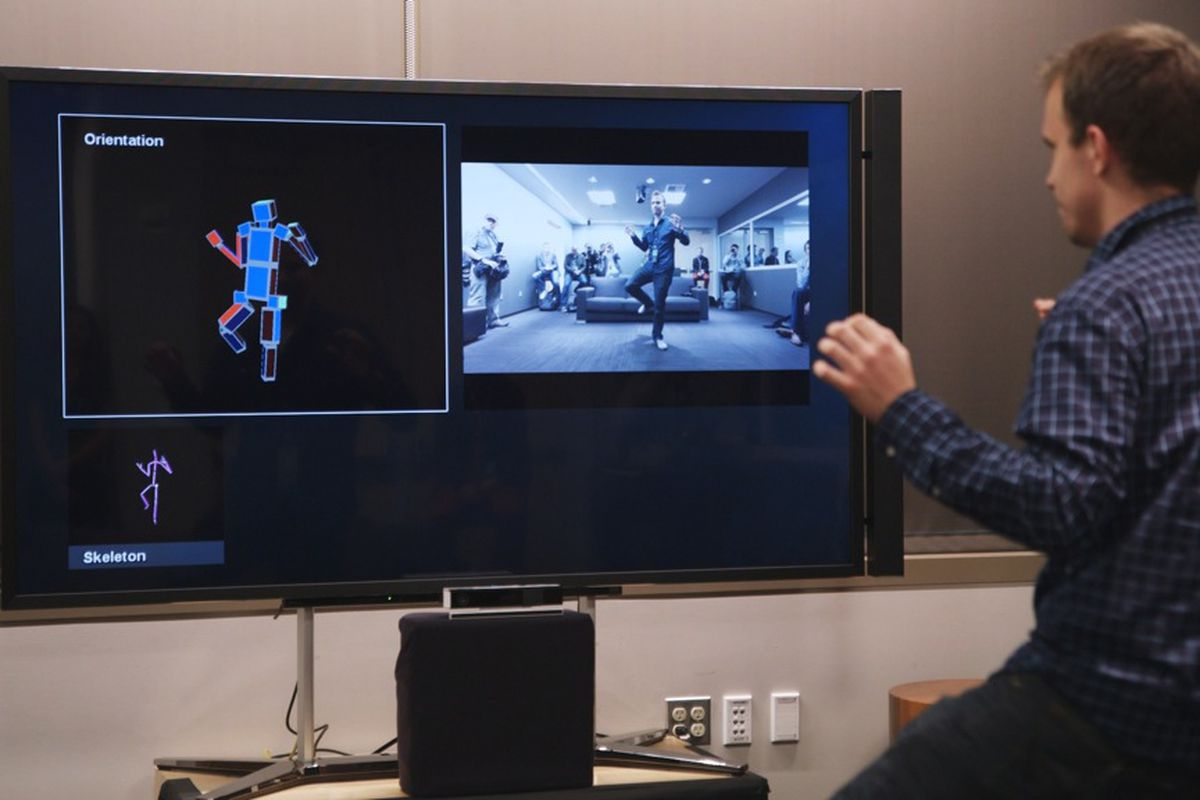 The all-seeing Kinect: tracking my face, arms, body, and