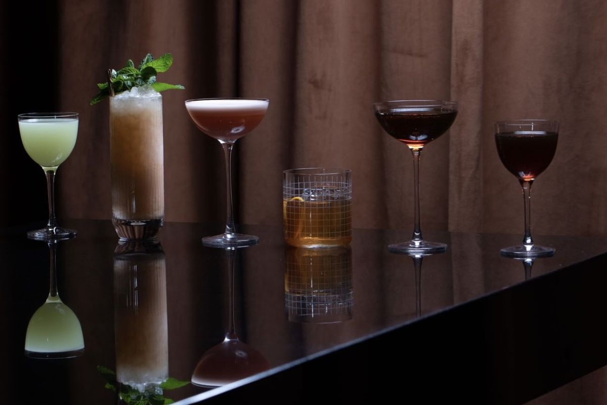 Cocktails from Pretty Dirty