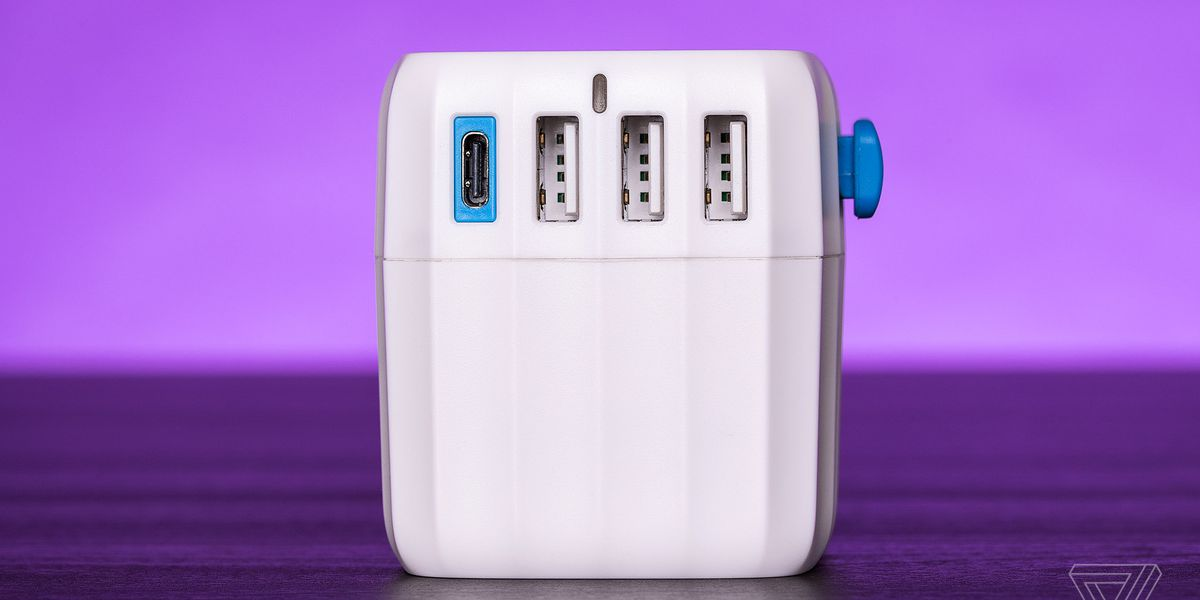 This global power adapter makes traveling with USB-C devices less of a pain