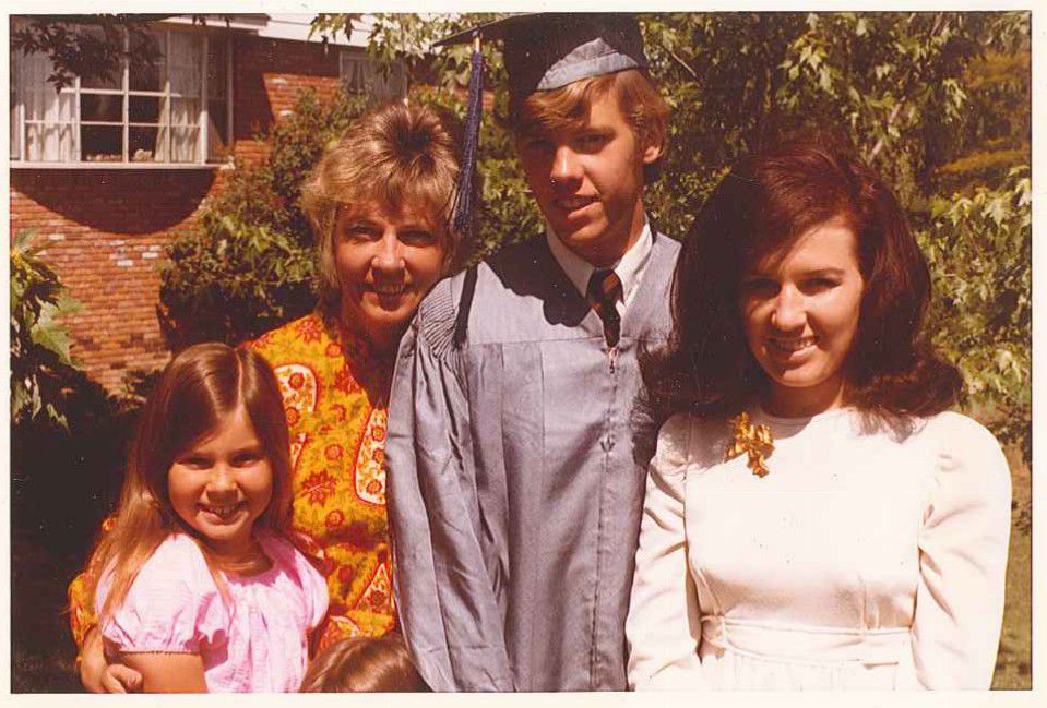 A young Scott McNealy with his family in suburban Detroit