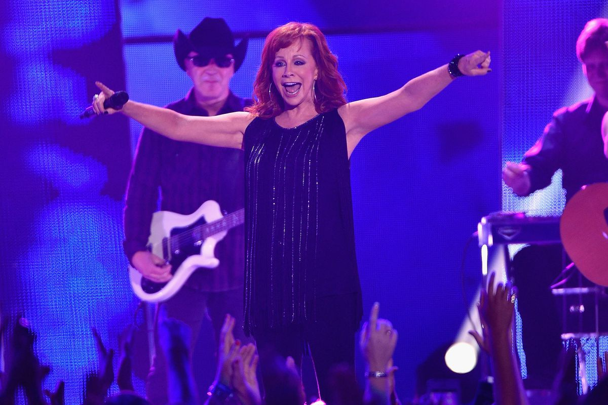 Reba McEntire was spotted twice in the past week.