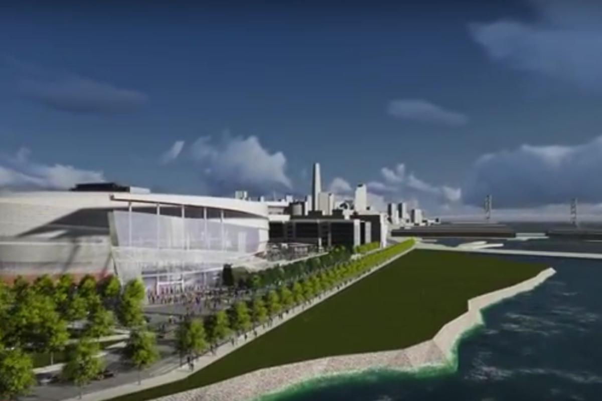 SF arena rendering