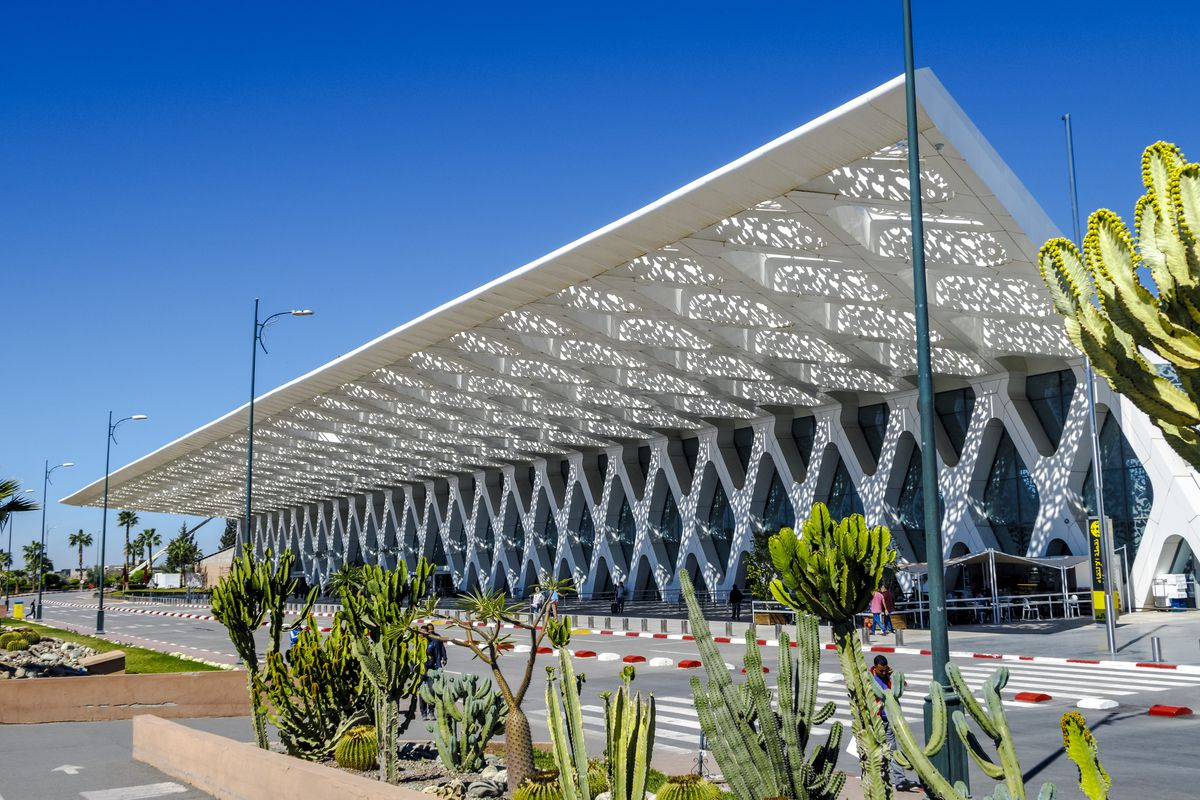 Exterior Of The Airport Marrakech Menara In Morocco Shutterstock