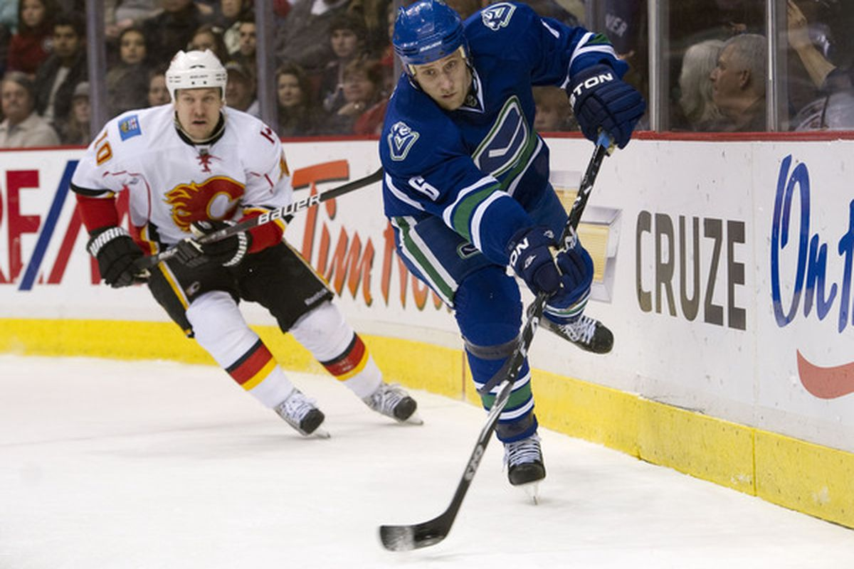 Sami Salo signed a two-year contract with the Tampa Bay Lightnin on Sunday, July 1st, 2012 (Photo by Rich Lam/Getty Images)