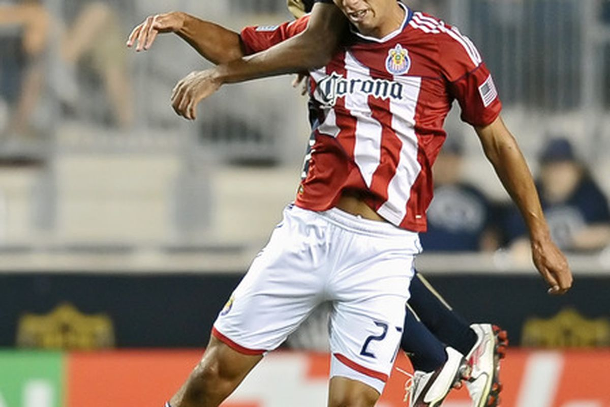 CHESTER, PA- JUNE 25: Cortez: Released by Chivas USA (Photo by Drew Hallowell/Getty Images)