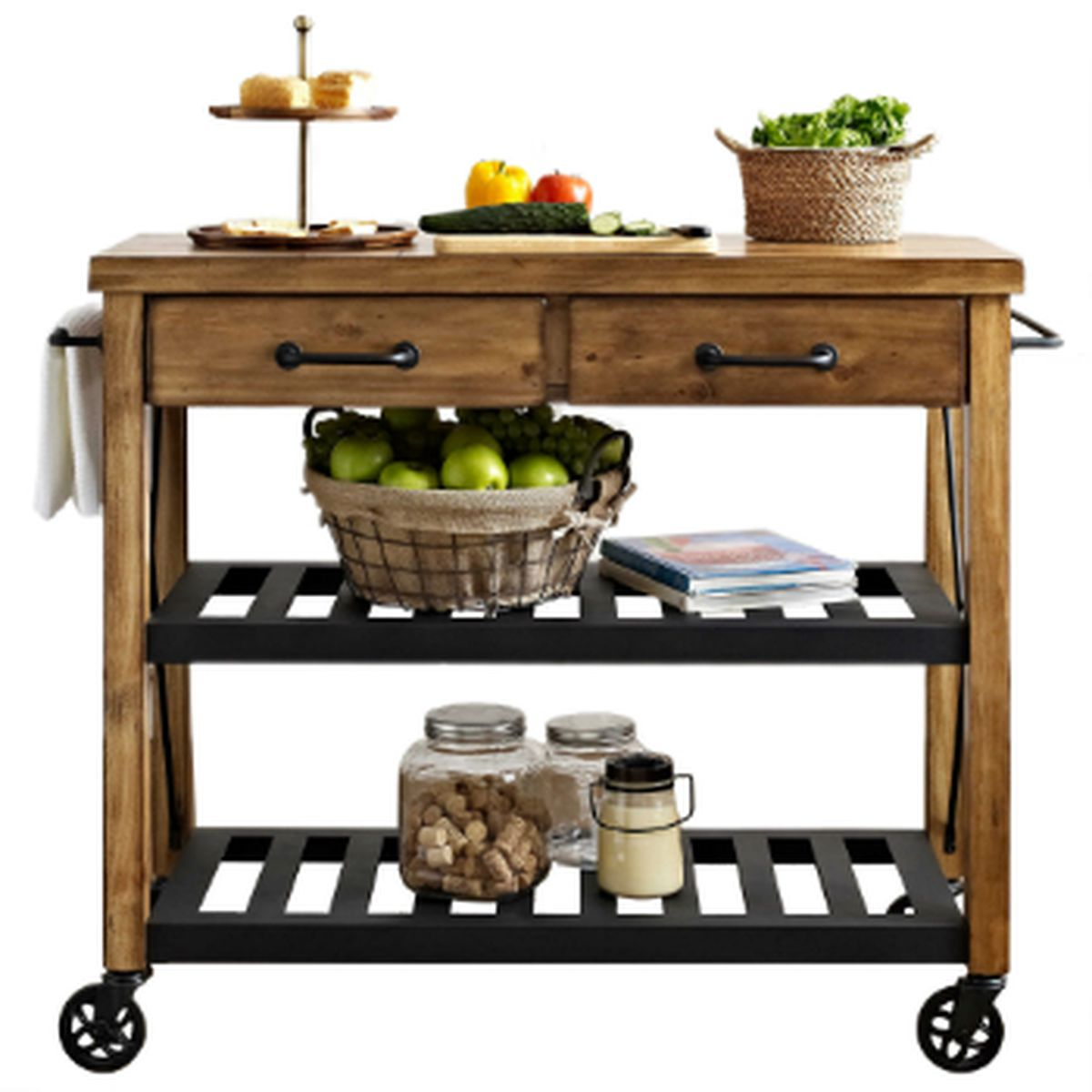 Crosley Furniture Roots Rack Natural Industrial Kitchen: 10 Ikea Essentials And Their Best Alternatives