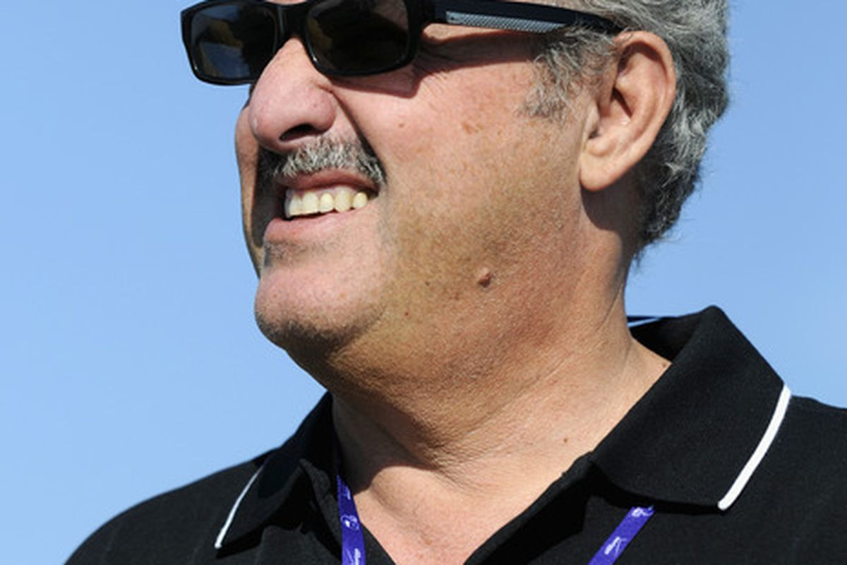 If something doesn't get done in short order, Zygi Wilf will likely move the Vikings to a place where he'd need to use those sunglasses a lot more frequently. (Photo by Hannah Foslien/Getty Images)