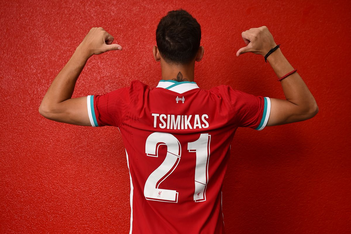 New Liverpool Signing Kostas Tsimikas Selects Squad Number - The ...