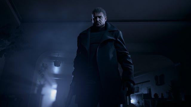 Chris Redfield in Resident Evil Village