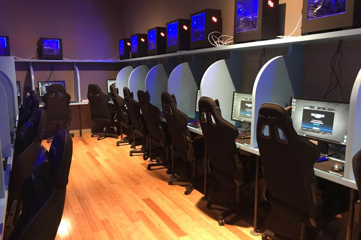 Gamer Coffee Shop Opens With 31 Personal Gaming Stations - Eater NY