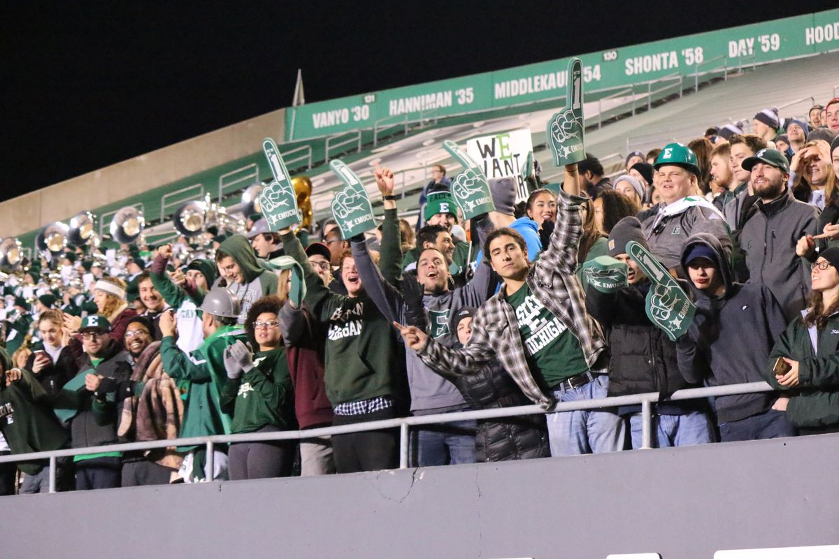 Northern Illinois at Eastern Michigan Football - In Pictures