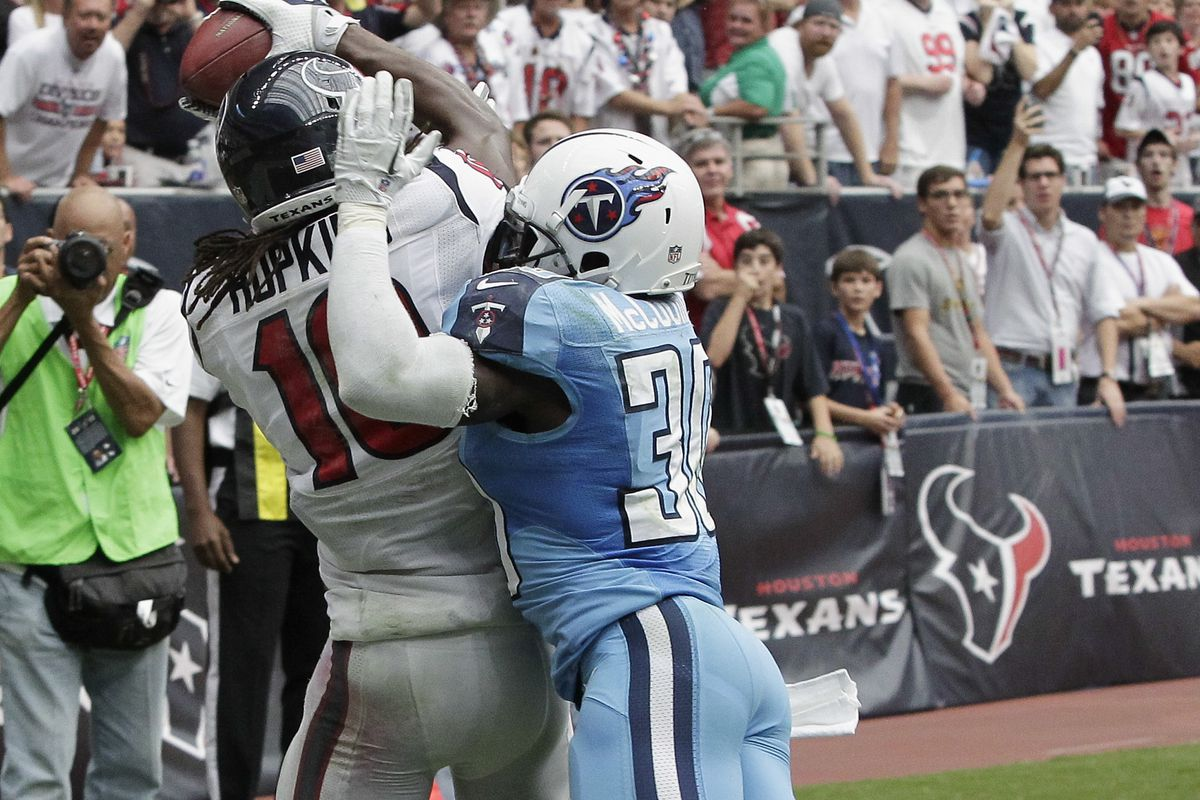 The last time the Texans won, it was on this play.