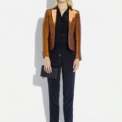 Surface to Air jacket (was $515, now $103) and silk pants (were $320, now $64)