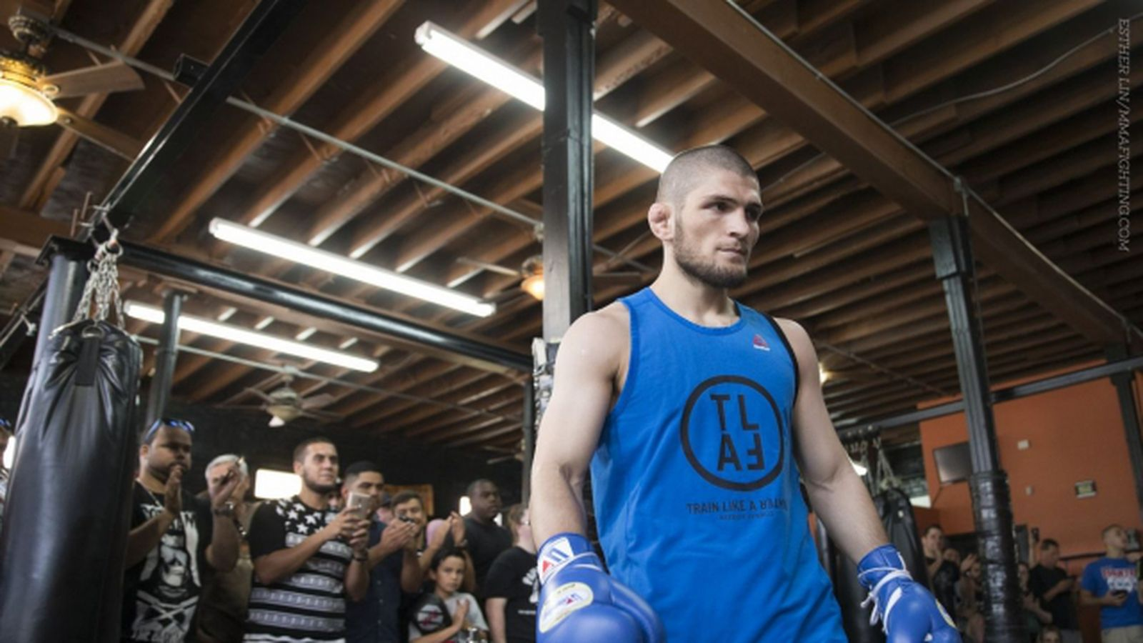 Video! Does It Look Like Khabib Is Ready For McGregor?