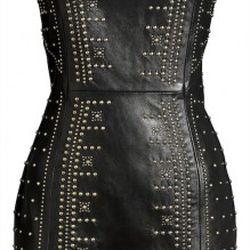 Leather dress $299