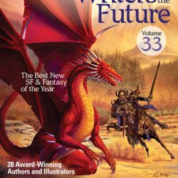 """Dustin Steinacker, an aspiring novelist from Orem, won a competition last June that earned him a spot in the """"L. Ron Hubbard Presents Writers of the Future Volume 33."""""""