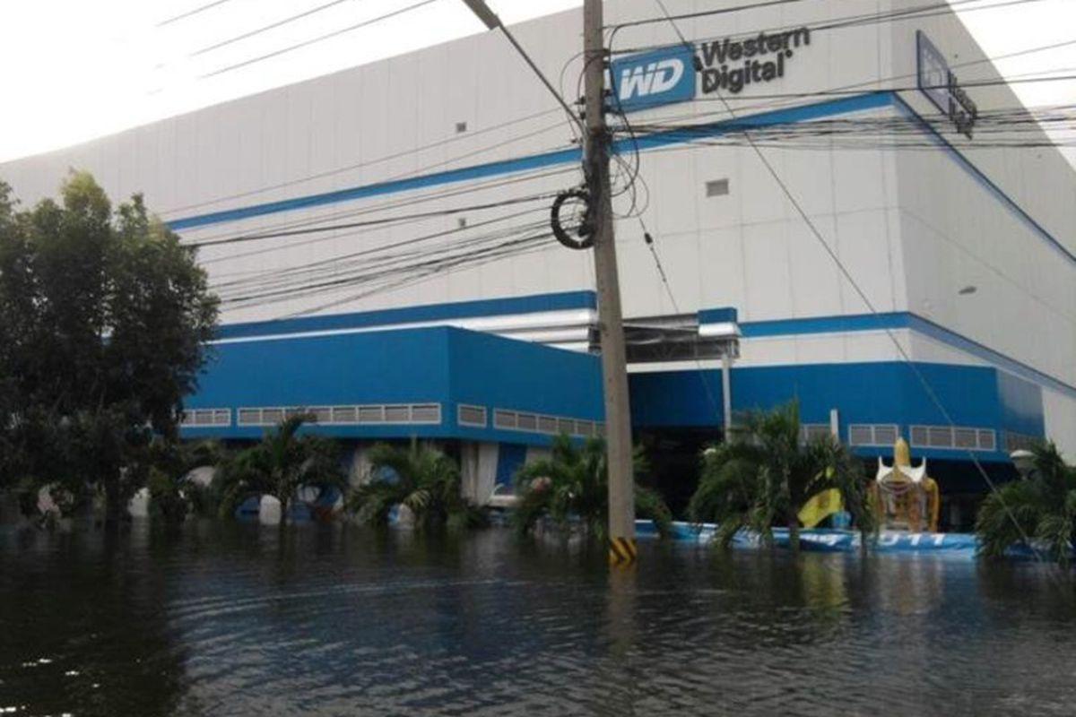 WD flooding