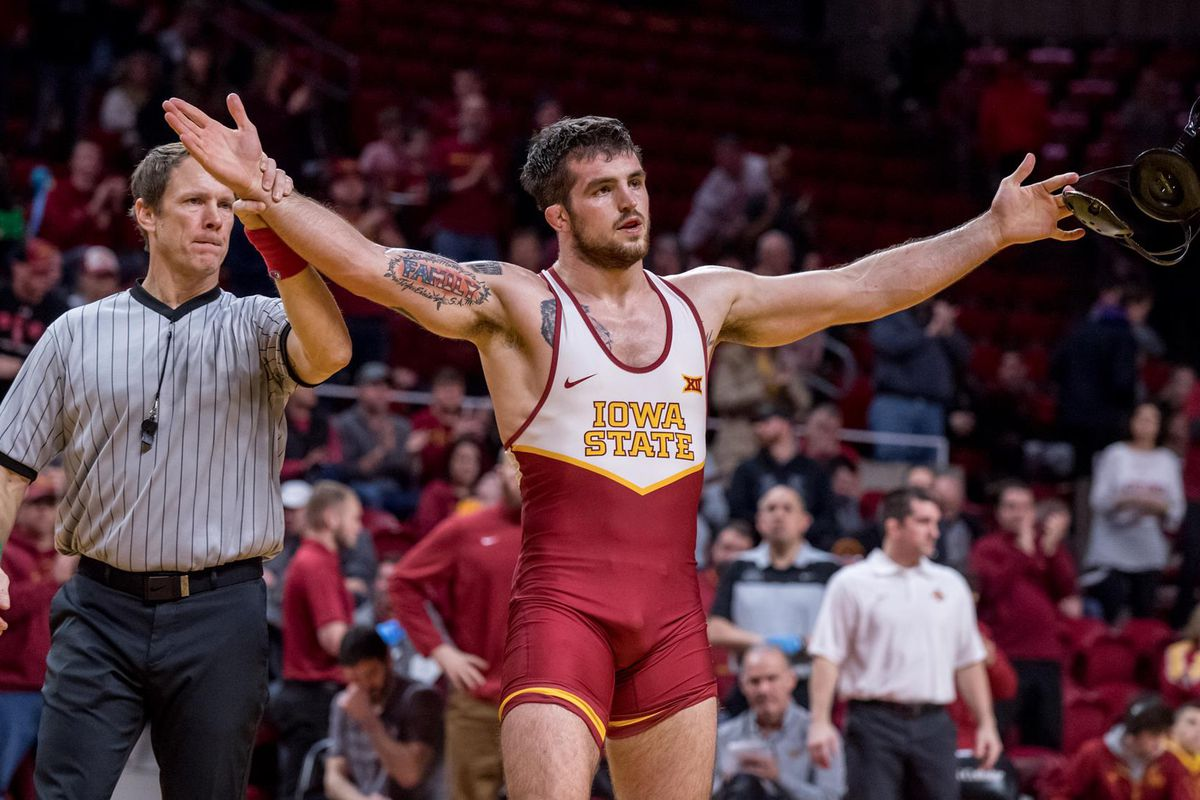 975cf0ec35ac Day One is in the books and it went pretty well for the Cyclones. Iowa  State currently sits in 11th place with 2 wrestlers in the quarterfinals  this morning ...