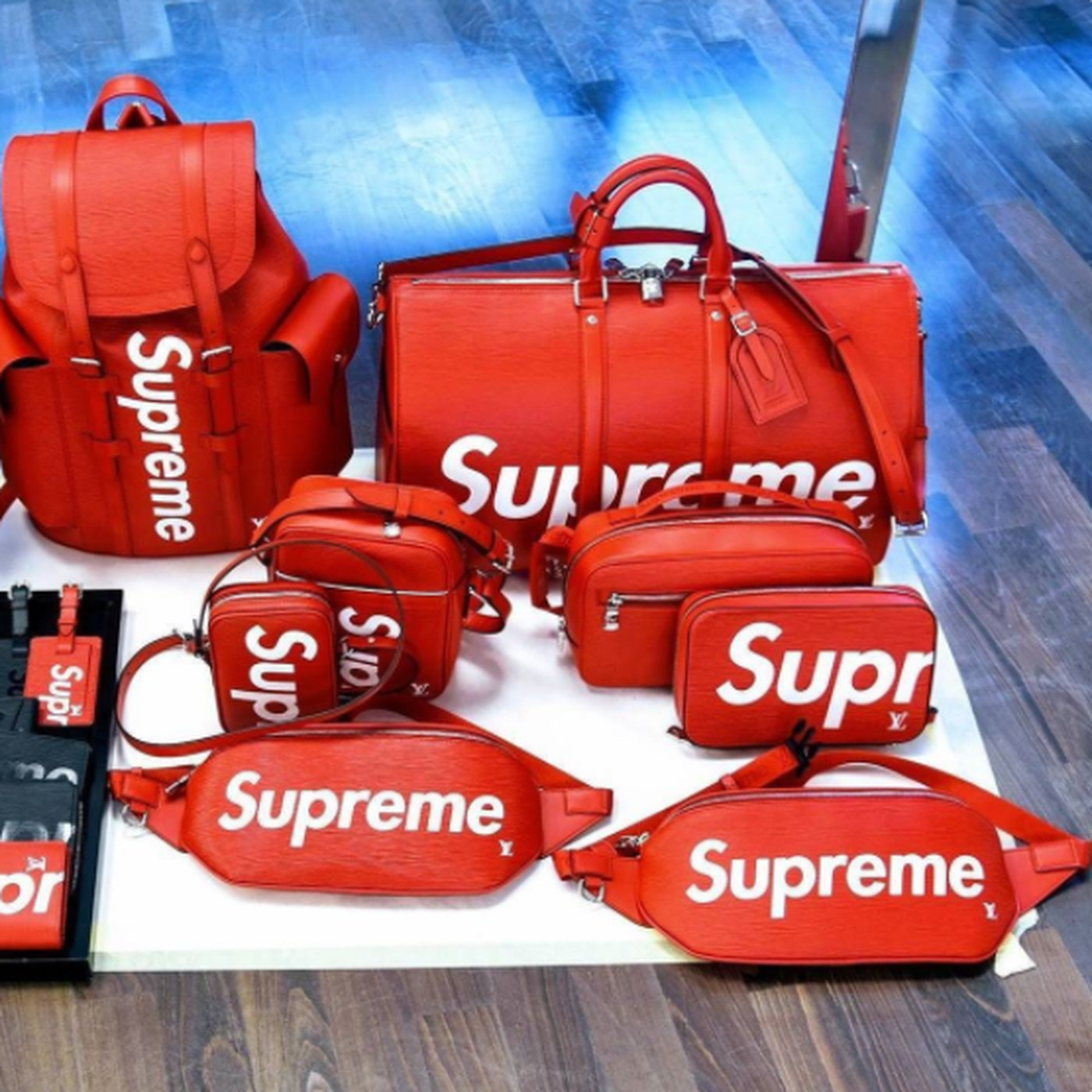 0ca3973ca Louis Vuitton's Supreme Collaboration Is Here - Racked