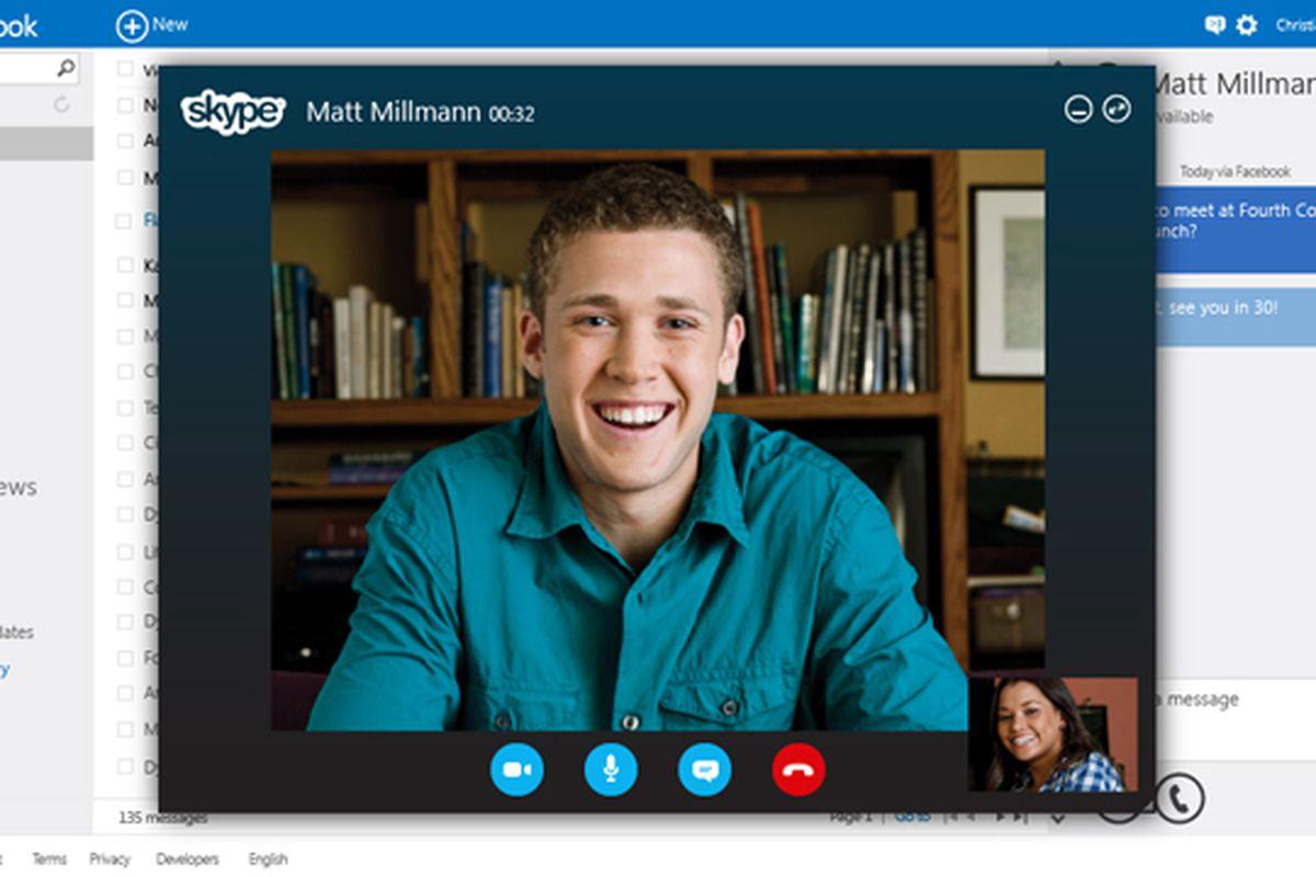 Skype Outlook.com