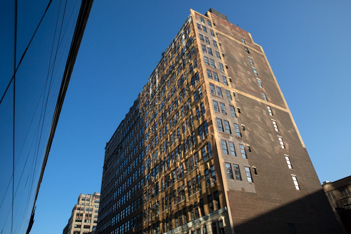 FIT's Kaufman Hall on West 31st Street.