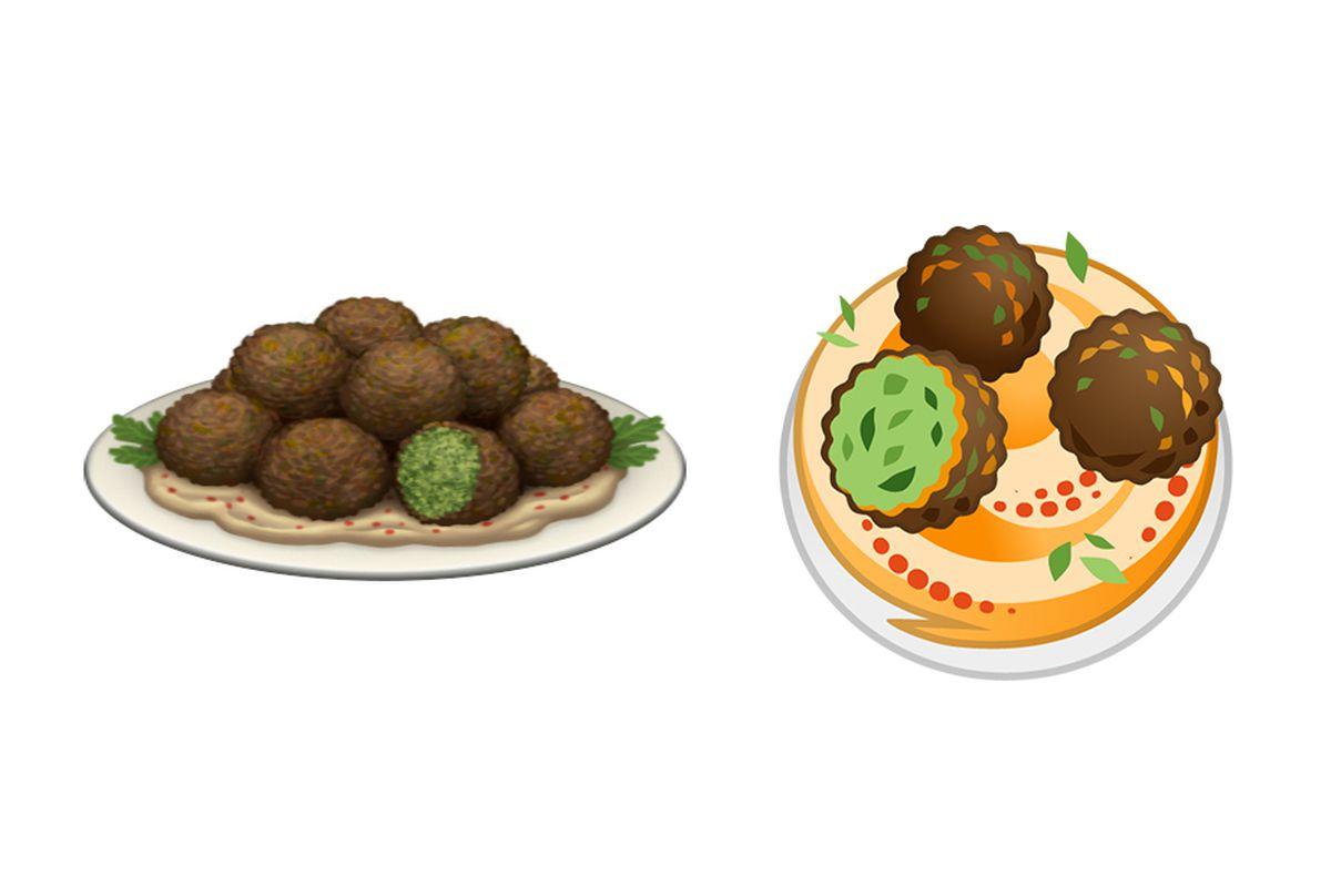 Image result for emoji falafel