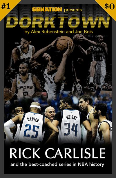 cover7 12 1k - Dorktown: Mavericks-Spurs, and the greatest coaching performance in NBA history